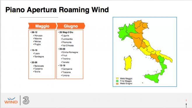 Roaming Wind Tre