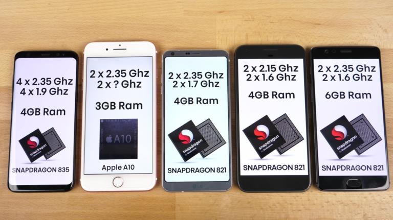 potenza iphone s8