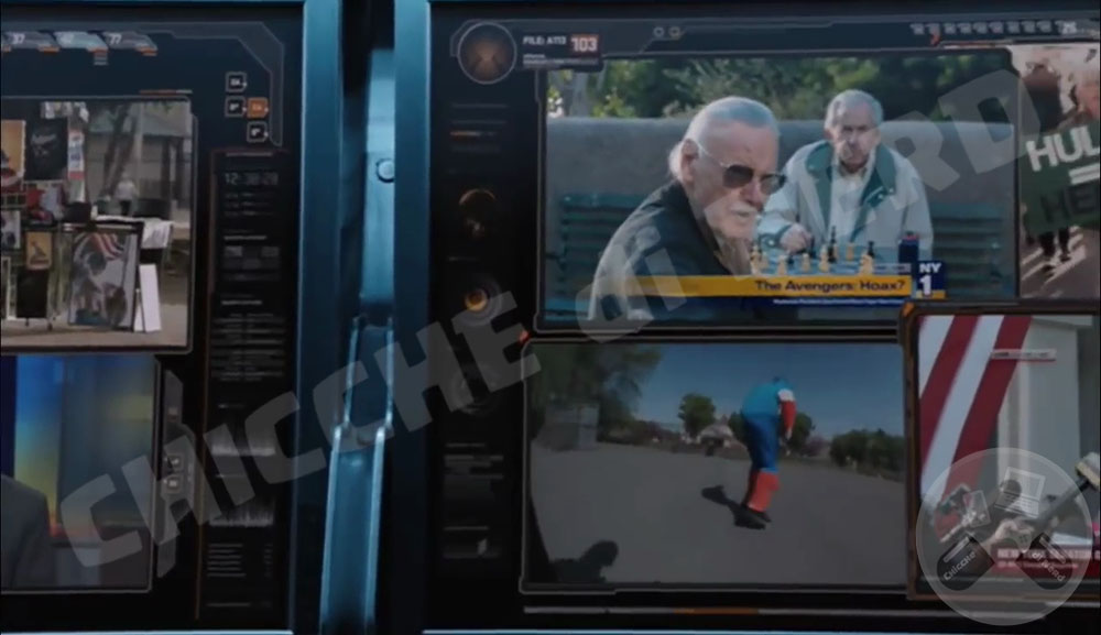 2012 - THE AVENGERS (Cameo Stan Lee)