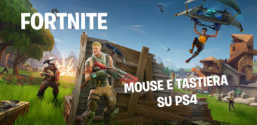 fortnite mouse e tastiera ps4