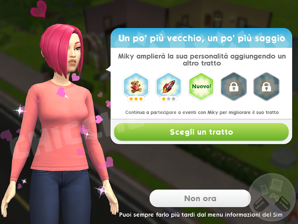 The Sims Mobile - Nuovo Tratto