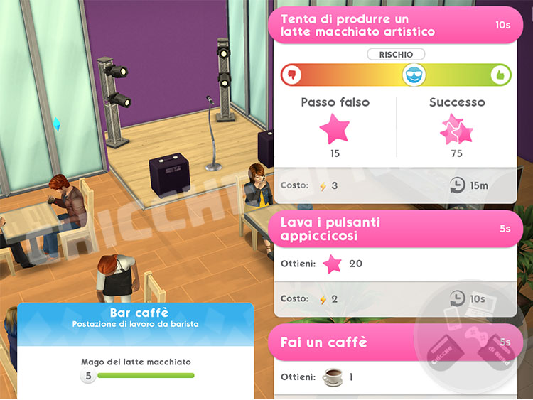 The Sims Mobile - Gestione Tempo