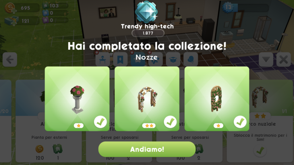 The Sims Mobile - come sposarsi matrimonio 1