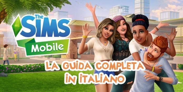 the sims mobile guida tutorial italiano