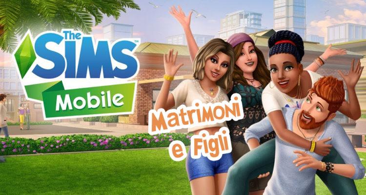 the sims mobile matrimonio e figli