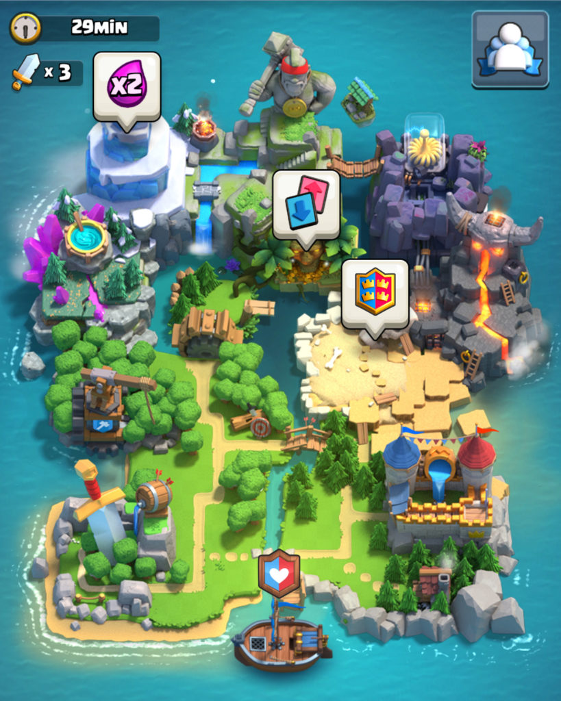 clash royale battaglie tra clan