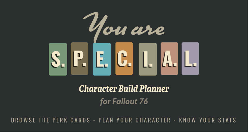Fallout 76 Character Build Planner
