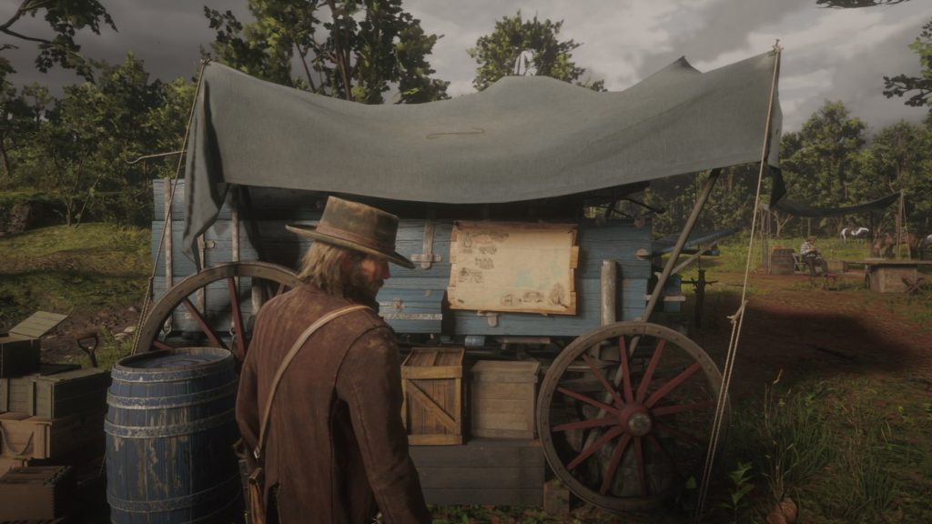 red dead redemption fast travel map
