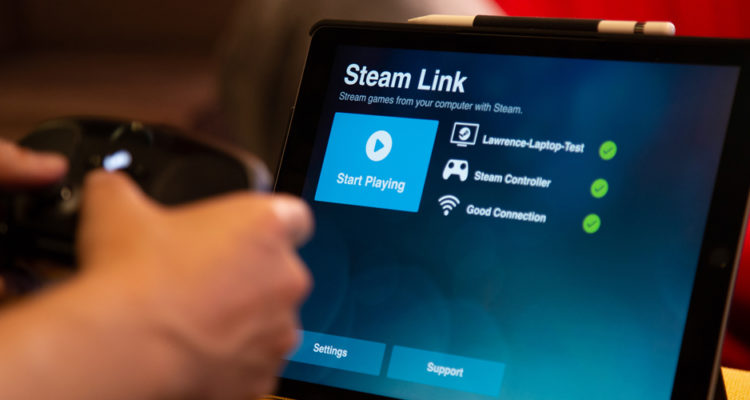 steam link ios android