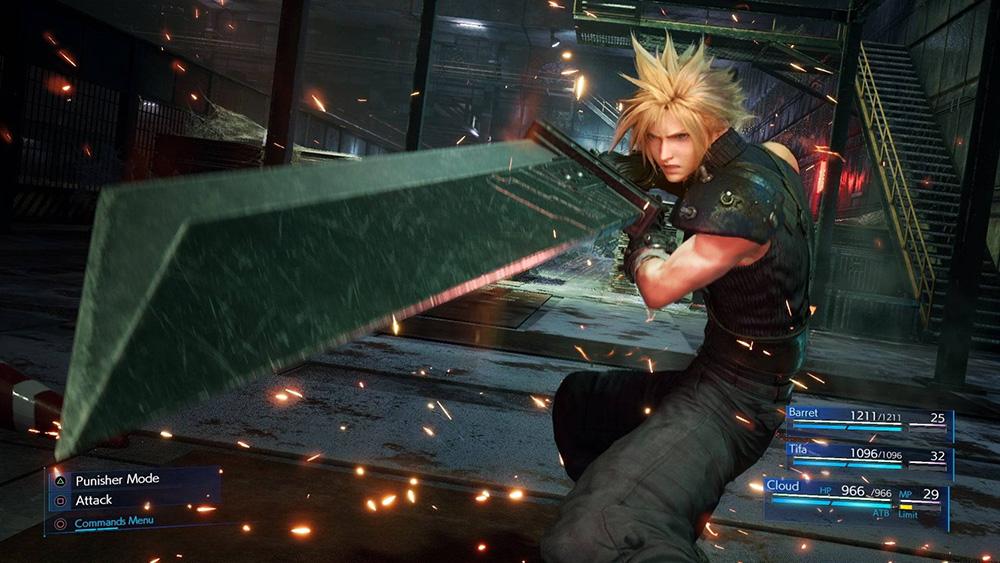 Final Fantasy VII Remake Armi e Abilita