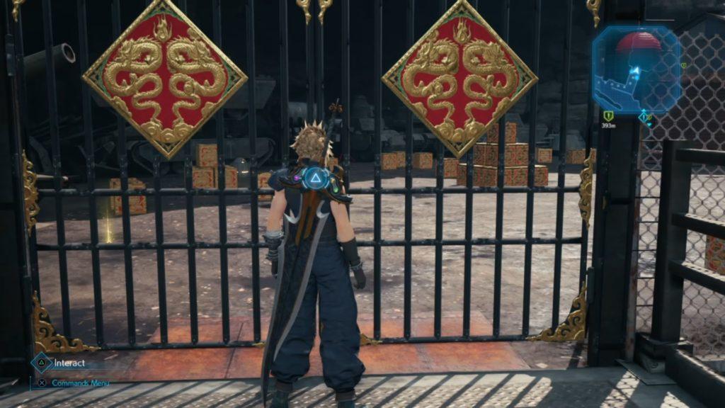 Final Fantasy VII Remake - Cancelli del Drago