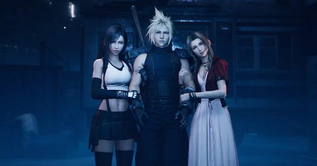 Final Fantasy VII Remake relationship Tifa Aerith